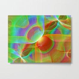 Light energy exchange Metal Print