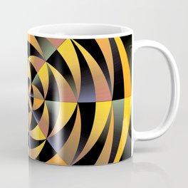 Tigerlike geometric design Coffee Mug
