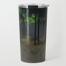 theres something in these woods Travel Mug