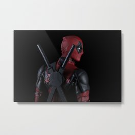 The Merc Metal Print
