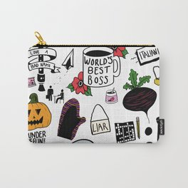 The Office doodles Carry-All Pouch