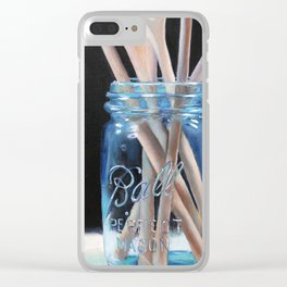 Perfect Mason Clear iPhone Case