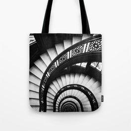 The Downward Spiral Tote Bag