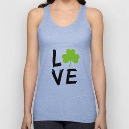 Love St Patricks Day Unisex Tank Top