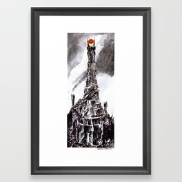The Great Eye Framed Art Print