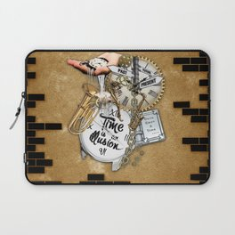 Time is an IIlusion Laptop Sleeve