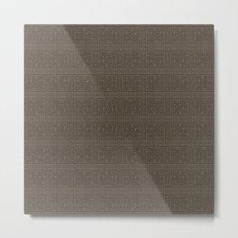 Maya pattern 2  Metal Print