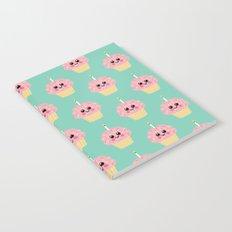 Happy Pixel Cupcake Notebook