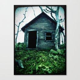 the shack Canvas Print