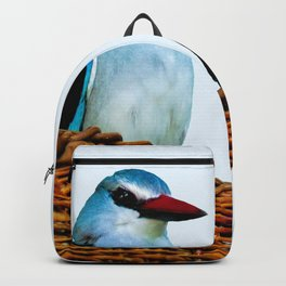 Woodland Kingfisher chit chat Backpack