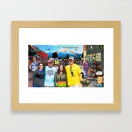 Weird Portland Framed Art Print