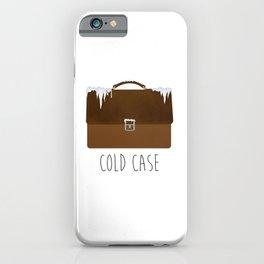 Cold Case iPhone Case
