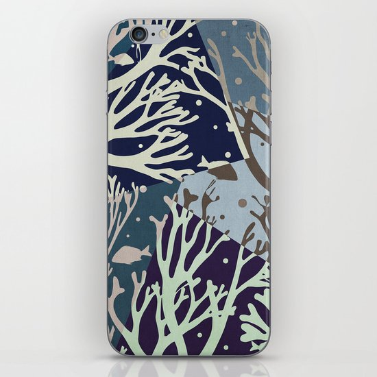 Under the Sea - Abstract iPhone Skin