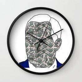 ORDINARY KIWI BLOKE PART I: JK $ NZ Wall Clock