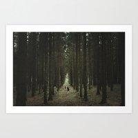 The Woods of St Olof 2 Art Print