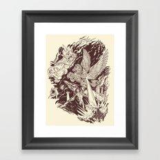 A Geek Legend Framed Art Print