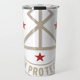 I Am Protected magickal activated sigil tshirt gift Travel Mug