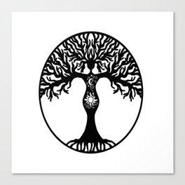 Goddess Tree Canvas Print