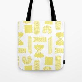 Pasta Pattern Tote Bag
