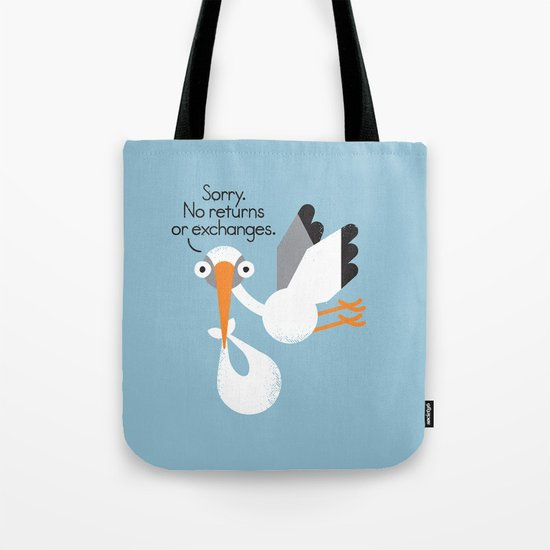 Delivery Policy Tote Bag