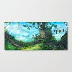Cliffside Observatory Canvas Print