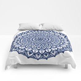 Sand Dollar-Navy Comforters