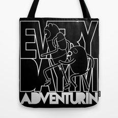 Every Day I'm Adventurin' - Light Tote Bag