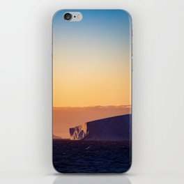 Sunset Iceberg iPhone Skin
