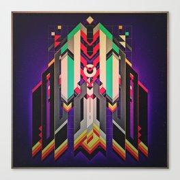 Rocket Vamp Canvas Print