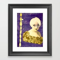 Victorian Purple Framed Art Print