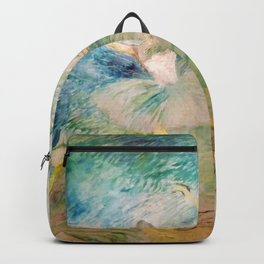 "Henri de Toulouse-Lautrec ""Ballet dancers"" Backpack"