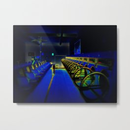 Blue Monday Metal Print