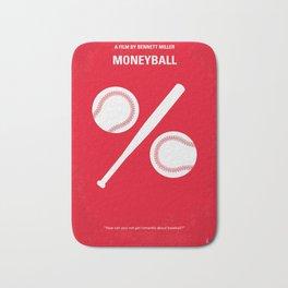 No191 My Moneyball minimal movie poster Bath Mat