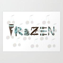 National Ice Cream Day Art Print