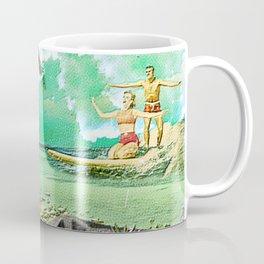 Surf Sand and Sunshine Coffee Mug