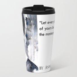 Light breathing by Anna Dart. Clement Louis.  Travel Mug