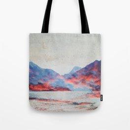 Fall Mountains Tote Bag