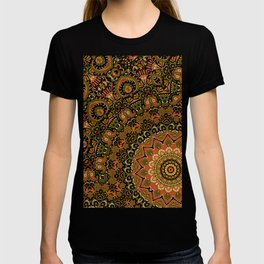 Kashmir Embroidery Look Mandala  T-shirt