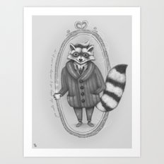 Morning -- Black and White Variant Art Print