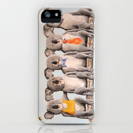 The Five Koalas iPhone Case