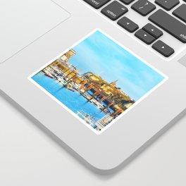 Dieppe Harbour Sticker