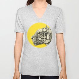 Wild 4 - by Eric Fan and Garima Dhawan Unisex V-Neck