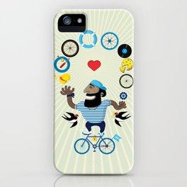 Juggle Jack iPhone Case