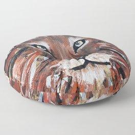 Red Lion Floor Pillow