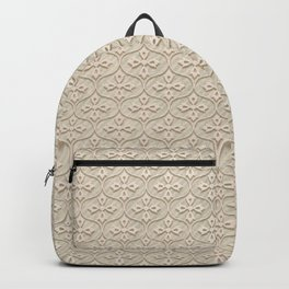 Blond Trellis Backpack