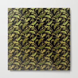Cute Eucalyptus Print Metal Print