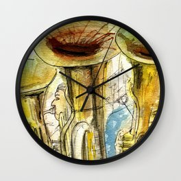 Tubas playing Wall Clock