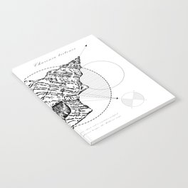 Geometry of a Charonia tritonis Notebook