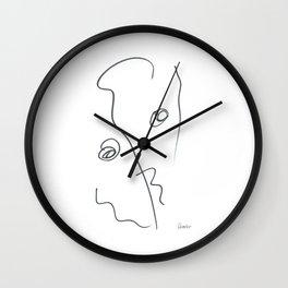 Demeter Moji d3 3-3 w Wall Clock