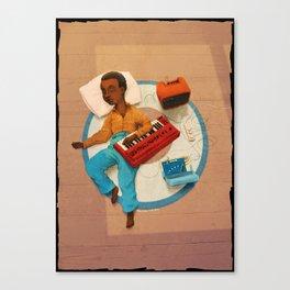 Sleepy 101 Canvas Print